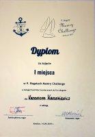 Zwyciężamy Mazurską Perłą w regatach Mamry Challenge 2019